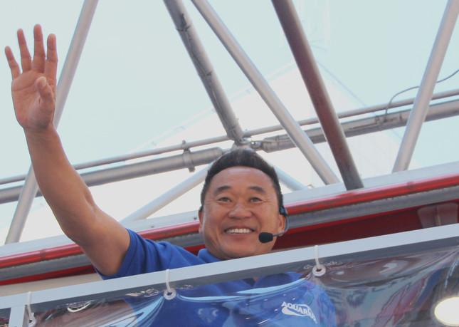 松木さん(写真は2014年撮影)