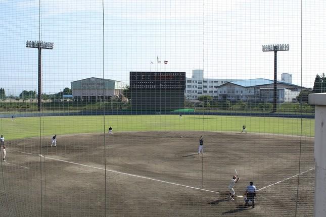 楽天二軍が2009年から使用している利府町中央公園野球場(WikimediaCommonsより、Pallchangさん撮影)