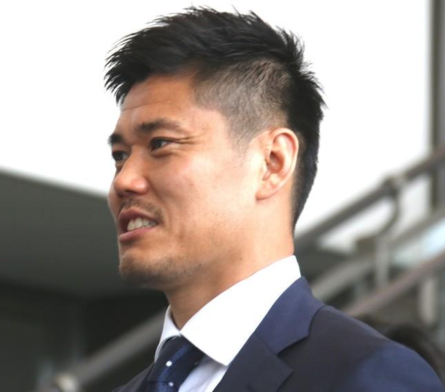 日本代表のGK川島永嗣(2018年6月撮影)