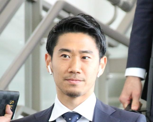 香川真司選手(写真は2018年6月撮影)