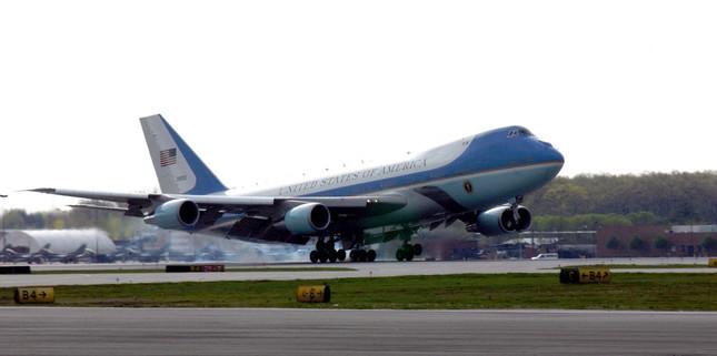 現行の米大統領専用機。買い替えが懸案になっている