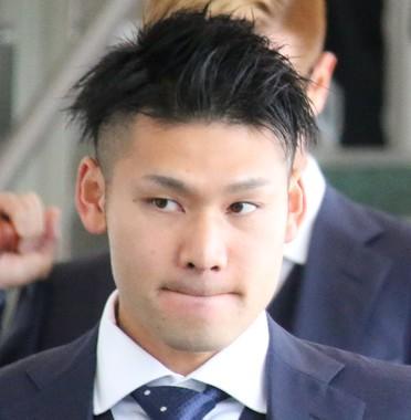 ロシアW杯日本代表の柏レイソルGK中村航輔。再開したJリーグの試合で負傷交代し、脳震盪と診断された(2018年6月撮影)
