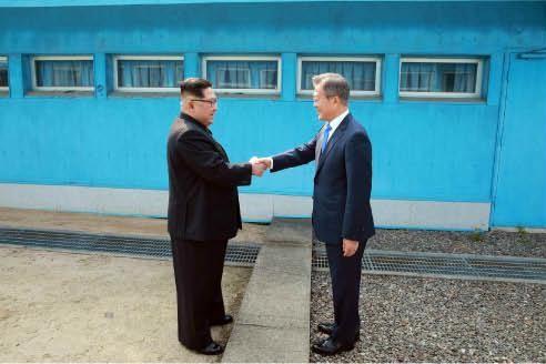 北朝鮮は「板門店宣言」履行を急かす理由は…?(写真は労働新聞から)