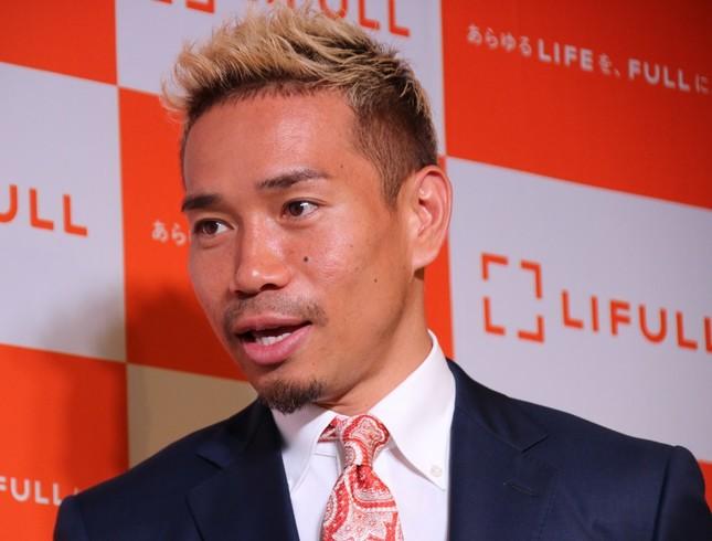 「出たい気持ちはある」と東京五輪への出場意欲を見せた長友佑都