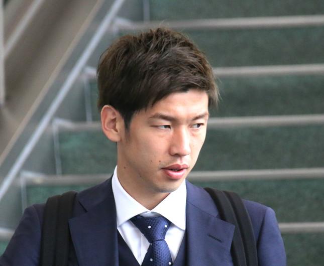 大迫勇也選手(写真は2018年6月撮影)