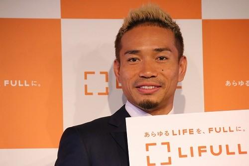 長友佑都選手(写真は2018年7月撮影)