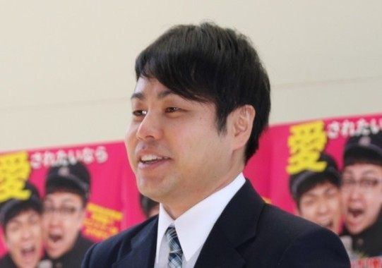 「ノンスタイル」の井上裕介さん(2017年4月撮影)