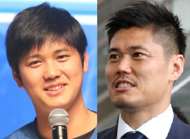 福田正博氏は大谷翔平選手(左)を引き合いに熱弁。GKの重要性についても川島永嗣選手の名前を出しながら語った