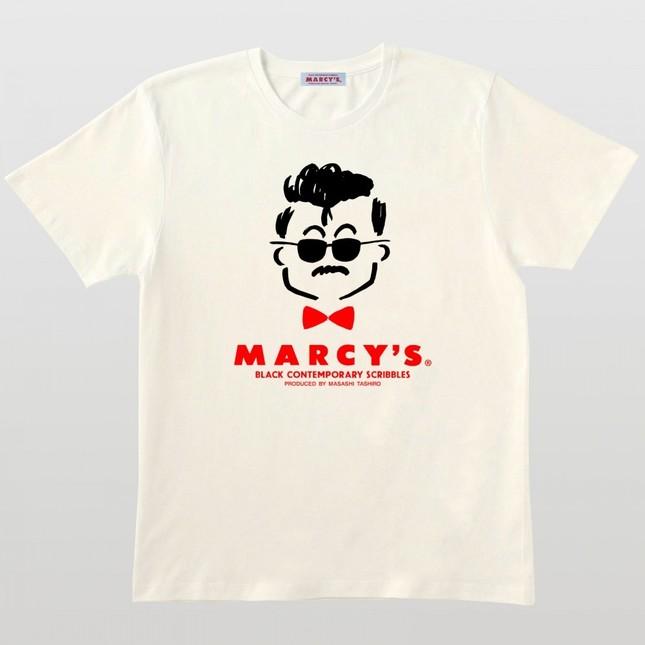 MARCY'S 復刻ロゴTシャツ(ナチュラル)