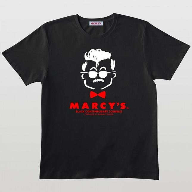 MARCY\'S 復刻ロゴTシャツ(ブラック)