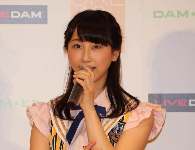 松井玲奈さん(写真は2014年7月撮影)