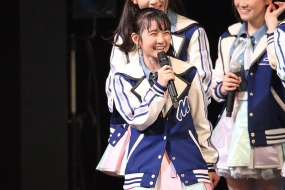 HKT48の今村麻莉愛さん(2017年4月撮影)