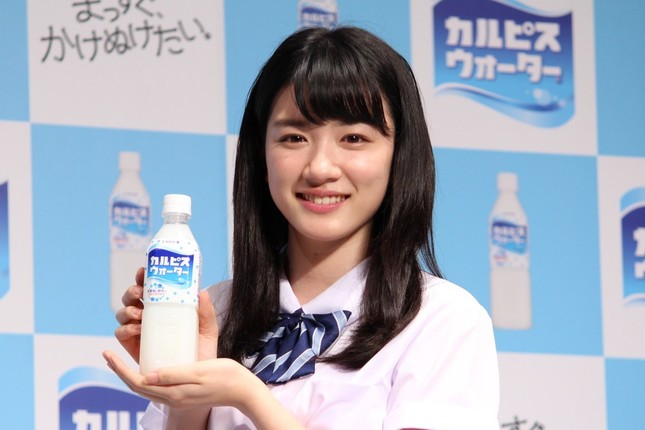 永野芽郁さん(2016年4月撮影)