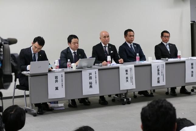 8月8日に会見を開き、山根氏が不正審判を指示したとみられる音声を公開した「日本ボクシングを再興する会」