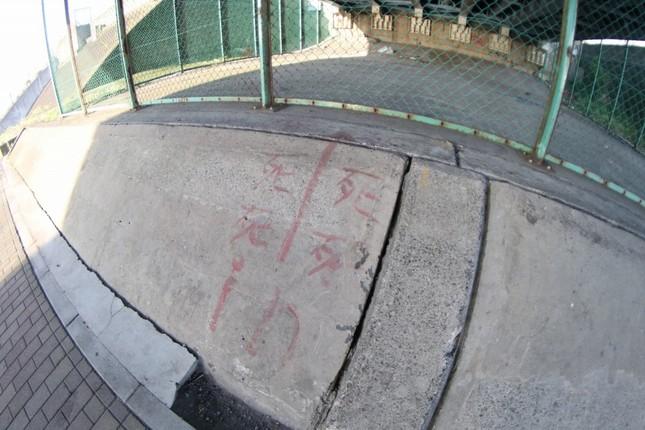 江戸川区で行旅死亡人となったホームレス。発見場所に近い荒川河川敷には「死」の落書きが