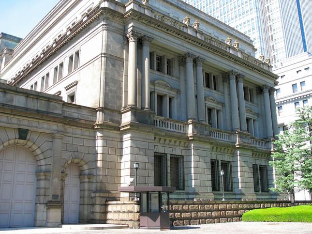 写真は日本銀行本店