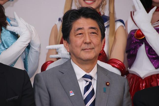 安倍首相(2018年7月撮影時)