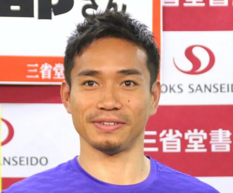 長友佑都選手(写真は2016年12月撮影)