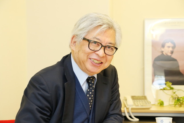 ノンフィクション作家の保阪正康さん