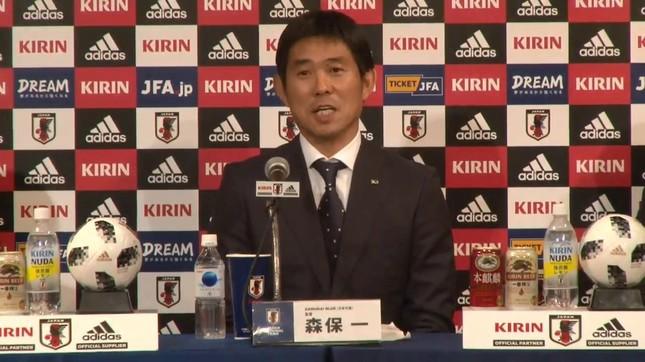 サッカー日本代表の森保一監督