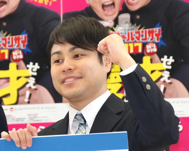 「NON STYLE」井上さん(写真は2017年4月撮影)