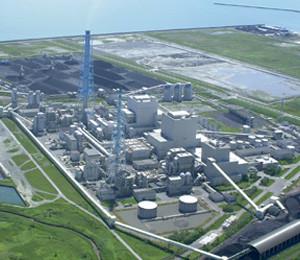 苫東厚真発電所が大停電の引き金になった(北海道電力のウェブサイトから)