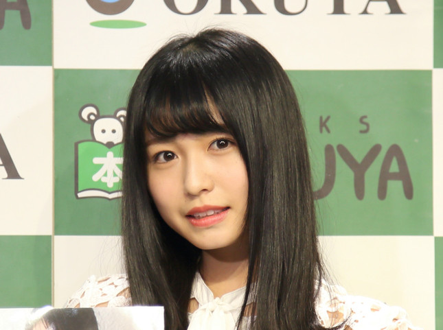 長濱ねるさん(写真は2017年12月撮影)