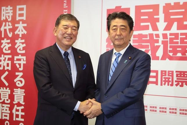 自民党総裁選は安倍晋三首相(党総裁)と石破茂元幹事長の一騎打ちだ