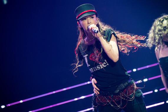 「WE ♥ NAMIE HANABI SHOW 前夜祭」での安室奈美恵さん