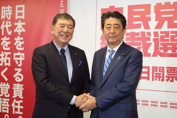 自民党総裁選は安倍晋三首相(党総裁)と石破茂元幹事長の一騎打ちだ。「圧力」問題で舌戦がヒートアップした