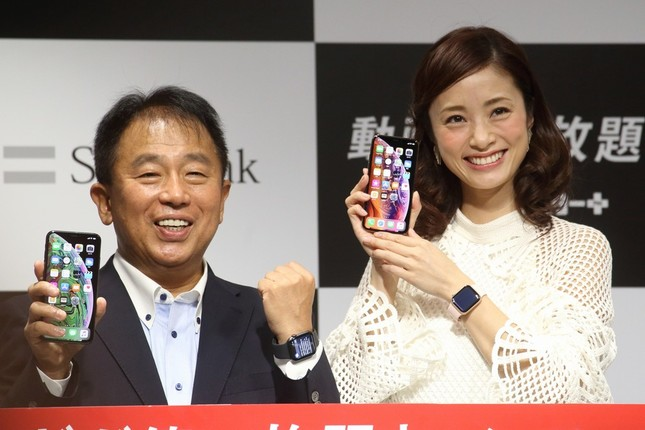 「iPhone XS」「iPhone XS Max」「Apple Watch Series 4」の3機種が発売された