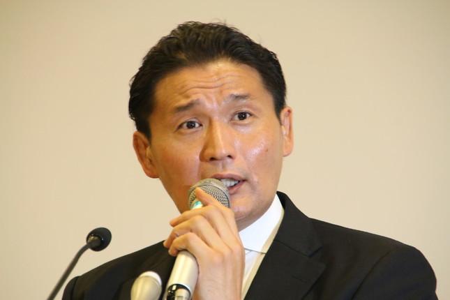 貴乃花親方(写真は2018年9月25日撮影)