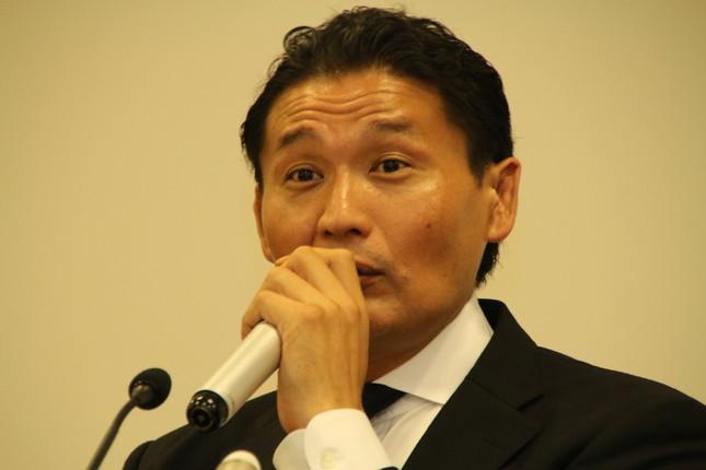 退職した元貴乃花親方(2018年9月25日撮影)