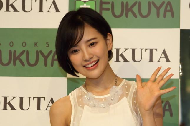 HKT48の兒玉遥さん。17年末から活動を休止している(2016年撮影)