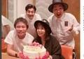 浜田雅功&小川菜摘「顔ハメ」インスタ 仲良しぶりに「未だに熱々かよ」