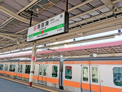 乗客の男性が突然暴れ出したJR西荻窪駅(写真はイメージ)