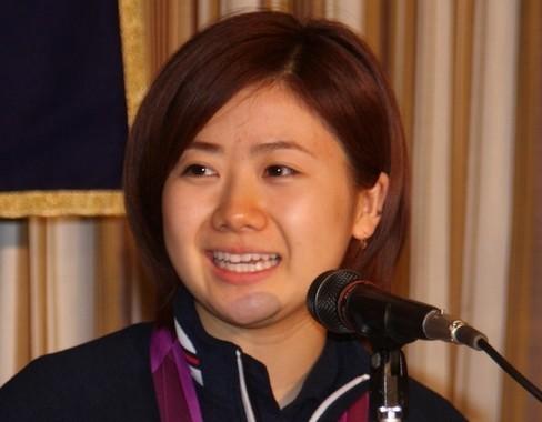 引退を発表した福原愛さん(2012年撮影)