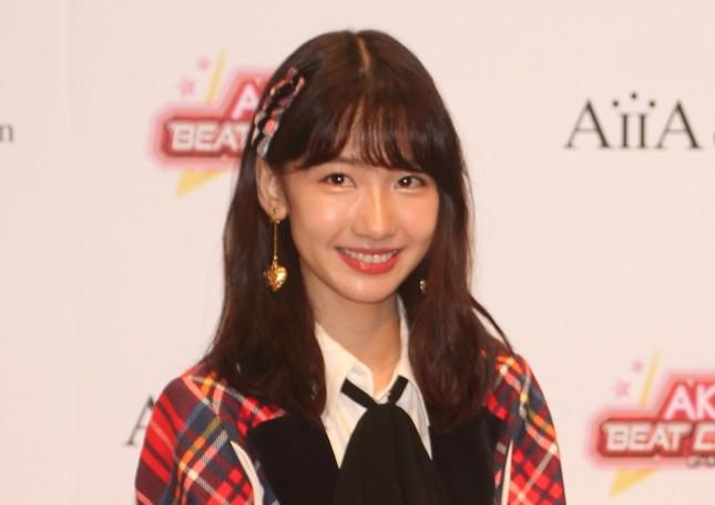 AKB48の柏木由紀さん(2018年8月撮影)
