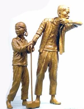 韓国は慰安婦像に続いて「徴用工像」設置の動きが相次いでいる(写真は「日本植民地時代徴用労働者像仁川建設推進委員会」のフェイスブックから)