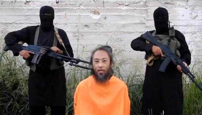 7月にネット上で公開された安田純平さんの動画から