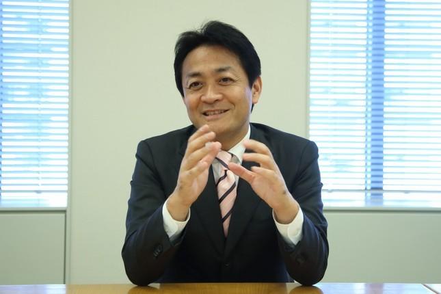 国民民主党の玉木雄一郎代表。軽減税率や動画配信の取り組みなど幅広く語った