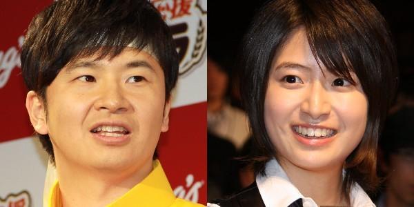 オードリー・若林正恭さん(左)と南沢奈央さん(右)