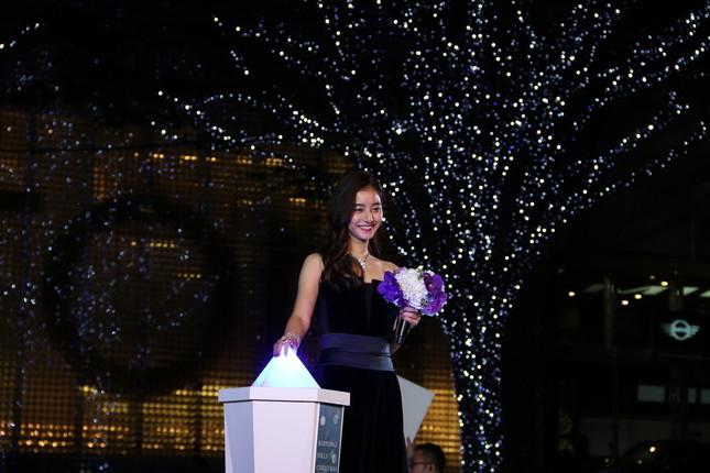 イベントに出席した新木優子さん(2018年11月撮影)