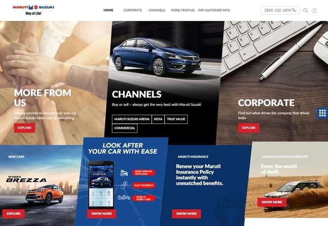 インド子会社「マルチ・スズキ」の公式サイト