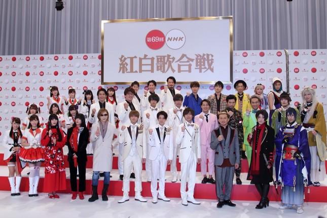 出演者発表会見(2018年11月14日撮影)