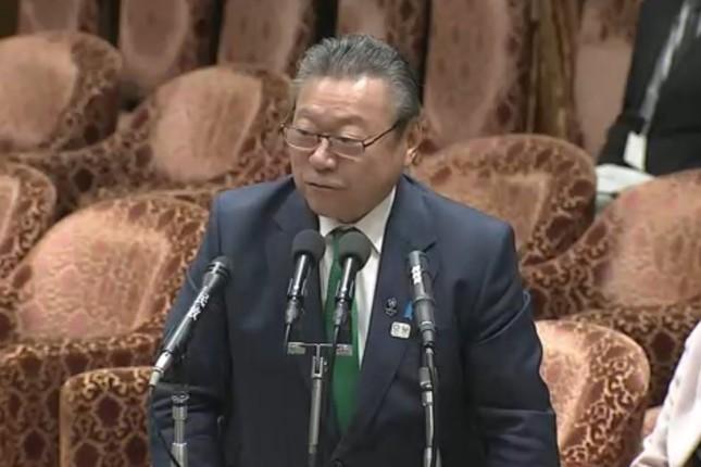 桜田義孝五輪相の発言が国外でも波紋を広げている(写真は衆院インターネット中継から)