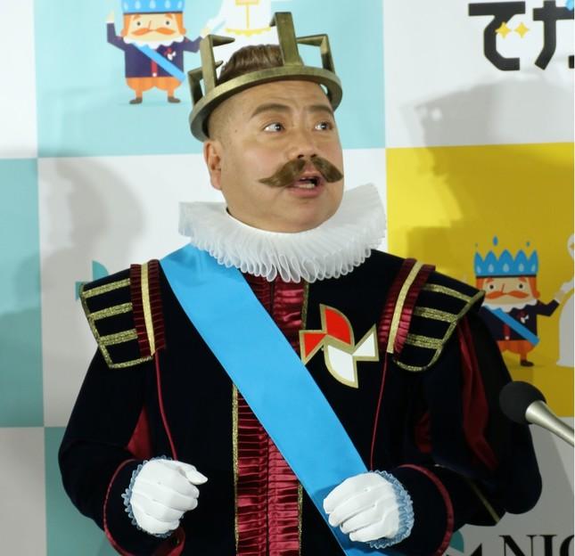 ニチガスのCMキャラクターをつとめ、イベントにも登場していた出川哲朗さん(2018年11月撮影)
