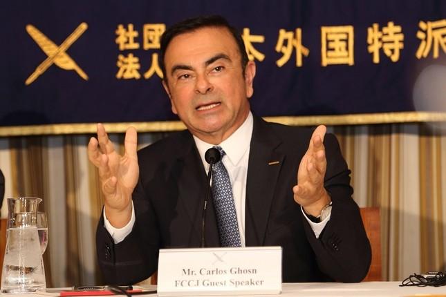 カルロス・ゴーン会長(2014年撮影)