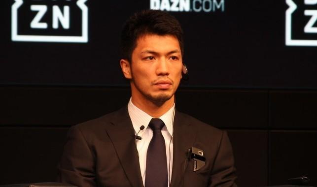 村田諒太選手(2018年9月撮影)