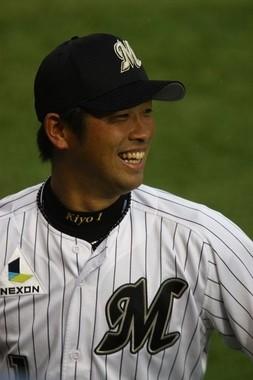 清田外野手(WikimediaCommonsより、Nsgokさん撮影)